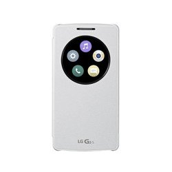 Etui LG CCF-490G Quick Circle Case Białe do LG G3S