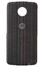 Lenovo MotoMods Style Shell Charcoal Ash Wood