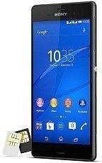 Sony Xperia Z3 Dual Sim Czarna D6633 + Karta pamięci 16GB