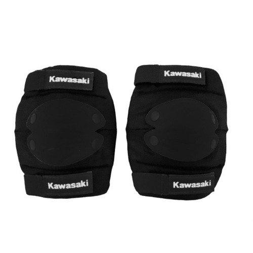 Kawasaki komplet ochraniaczy na łokcie i kolana czarne rozmiar M