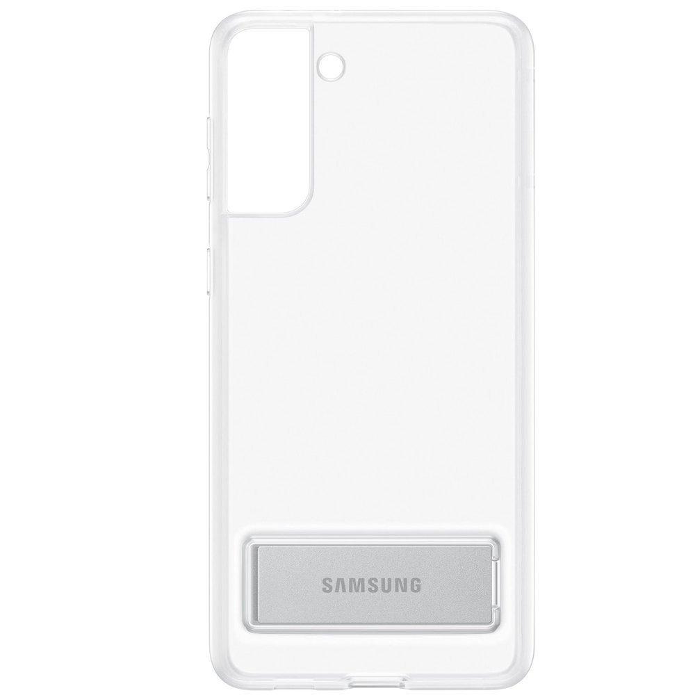 Etui Samsung CLEAR Standing Cover Transparent do Galaxy S21+ (EF-JG996CTEGWW)