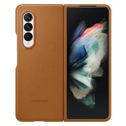 Etui Samsung Leather Cover Camel/Brązowy Galaxy Z Fold3 5G (EF-VF926LAEGWW)