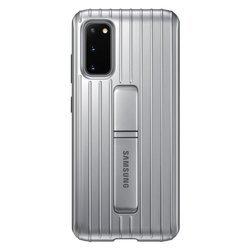Etui Samsung Protective Standing Cover Srebrny do Galaxy S20 (EF-RG980CSEGEU)