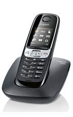GIGASET C620 Czarny telefon stacjonarny DECT
