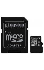 KINGSTON Karta Pamięci z adpaterem microSDHC 32GB