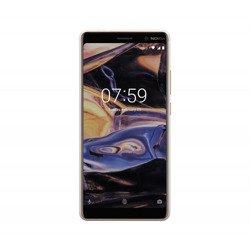NOKIA 7 plus Biało-Miedziana Dual SIM 4/64GB