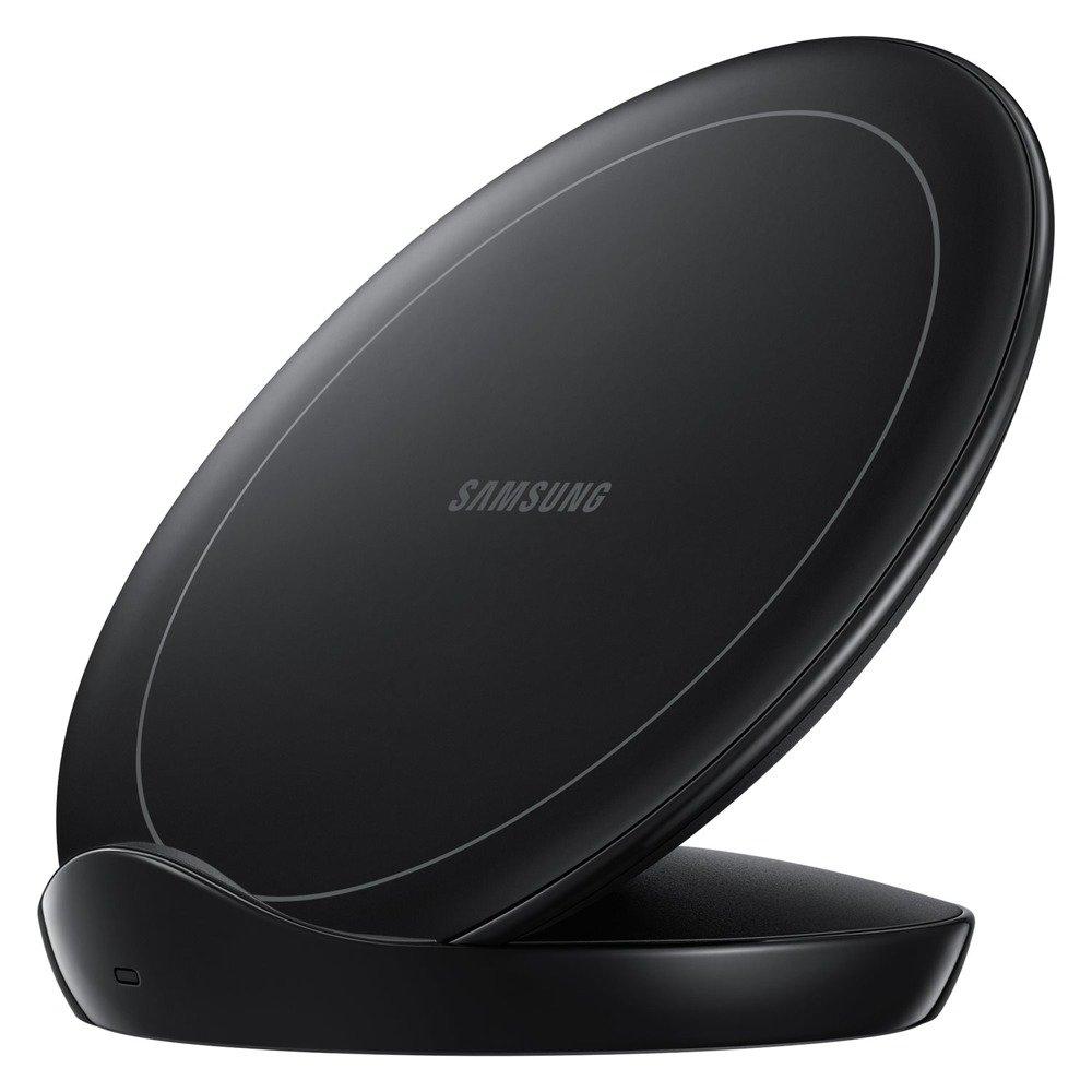 Ładowarka Samsung Wireless Charger Stand z Wentylatorem Czarna (EP N5105TBEGWW)