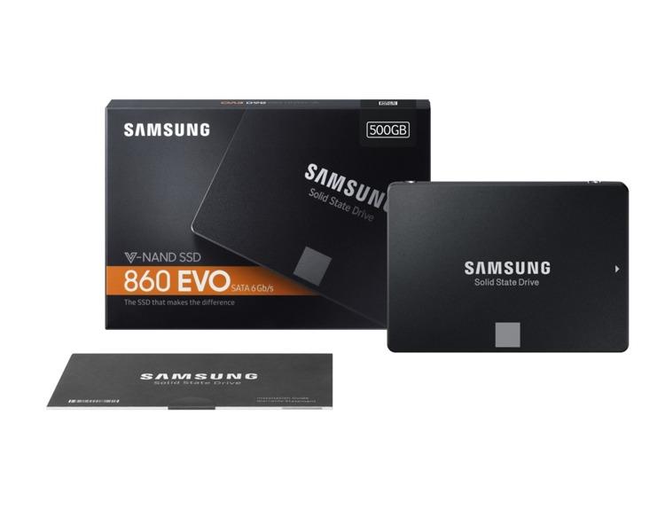 Dysk SSD Samsung 860 EVO SATA III 2,5 cala 500 GB