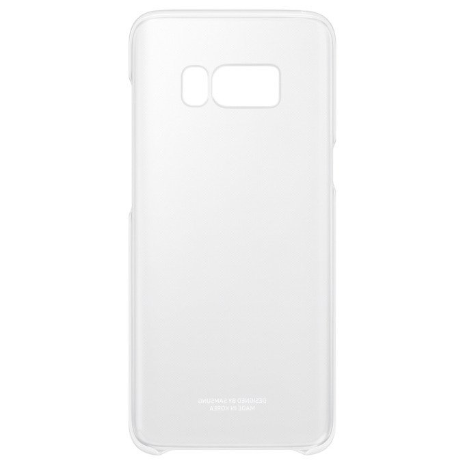 Etui Clear Cover do Galaxy S8+ Transparentne (EF-QG955CSEGWW)