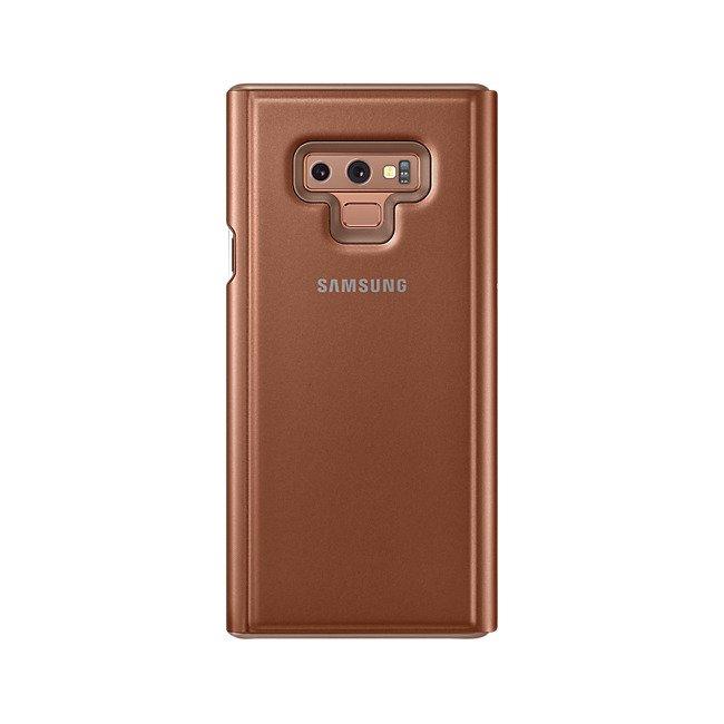Etui Clear View Standing do Galaxy Note 9 Brązowe (EF-ZN960CAEGWW)