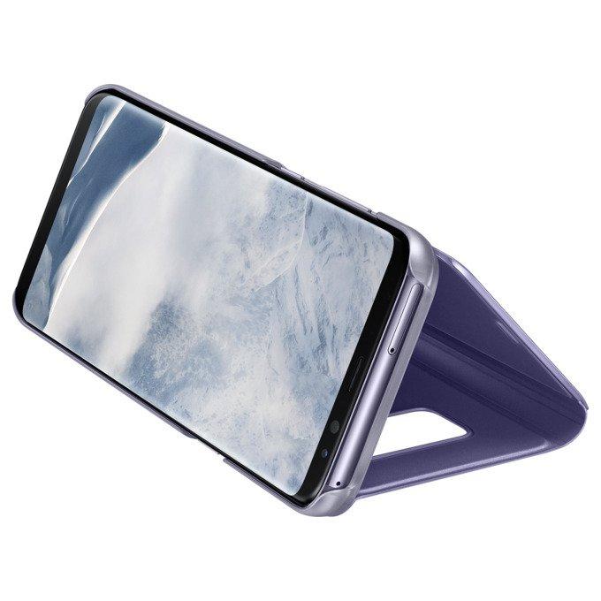Etui Clear View cover do Galaxy S8 Fioletowe (EF-ZG950CVEGWW)