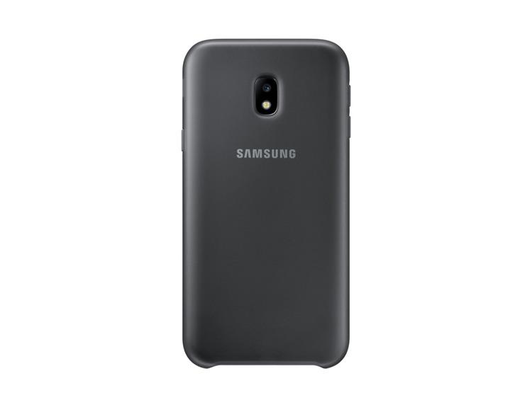 Etui Dual Layer Cover Czarne do Samsung Galaxy J3 (2017) EF-PJ330CBEGWW