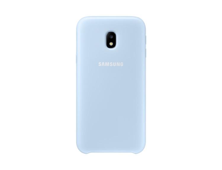 Etui Dual Layer Cover Niebieskie do Samsung Galaxy J3 (2017) EF-PJ330CLEGWW