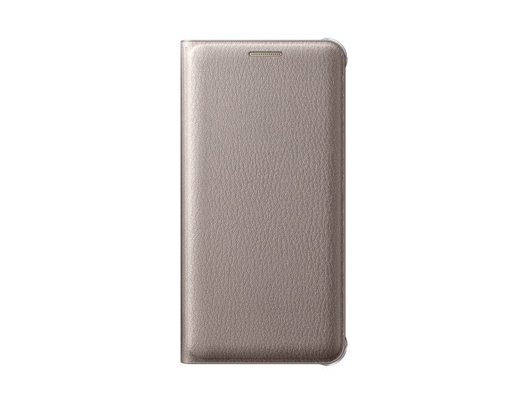 Etui Flip Wallet Złote do Galaxy A3 2016 (EF-WA310PFEGWW)