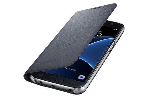 Etui LED View Cower do Samsung Galaxy S7 Czarny EF-NG930PBEGWW