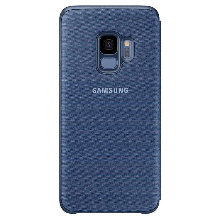 Etui LED View cover do Galaxy S9 Niebieskie (EF-NG960PLEGWW)