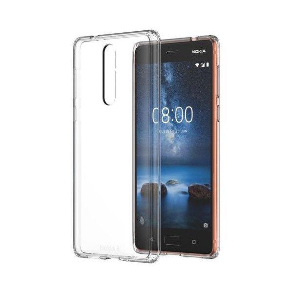 Etui Nokia Hybrid Crystal Case CC-701 do Nokia 8