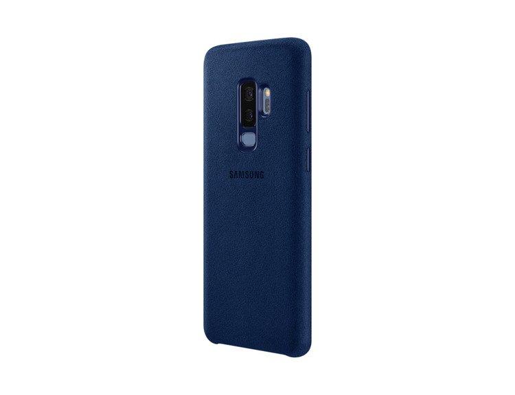 Etui Samsung Alcantara Cover do Galaxy S9+ Granatowe EF-XG965ALEGWW