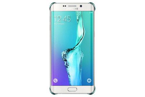 Etui Samsung Glitter Cover Niebieskie do Galaxy S6 edge+ EF-XG928CLEGWW