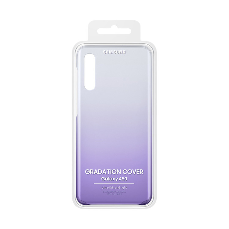 Etui Samsung Gradation Cover Fioletowe do Galaxy A50 (EF-AA505CVEGWW)