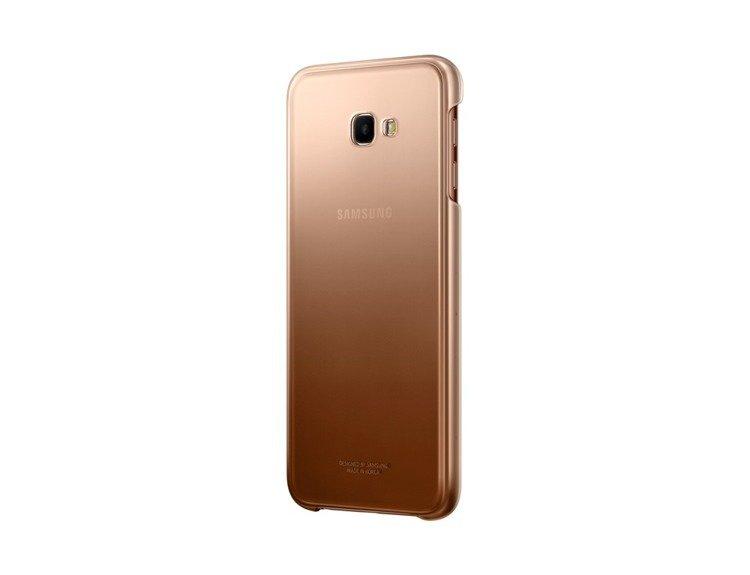 Etui Samsung Gradation Cover Złote do Galaxy J4+ (2018) (EF-AJ415CFEGWW)
