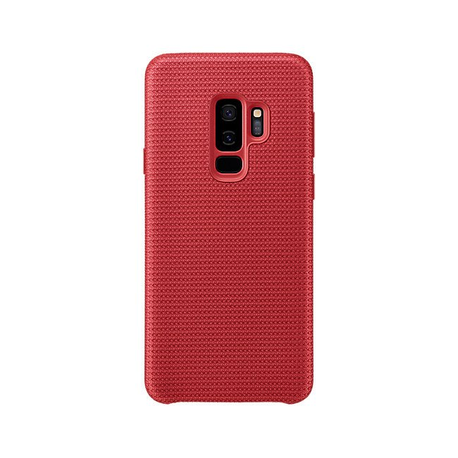 Etui Samsung Hyperknit Cover do Galaxy S9+ Czerwone EF-GG965FREGWW