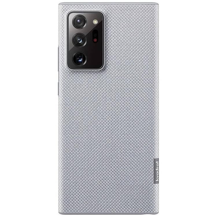 Etui Samsung Kvadrat Cover Szare do Galaxy Note 20 Ultra (EF-XN985FJEGEU)