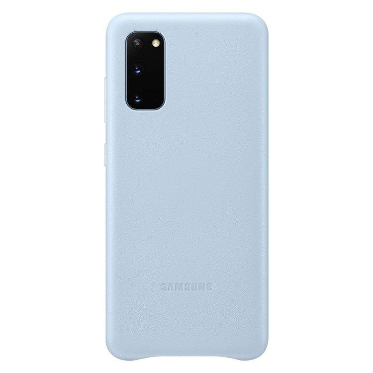 Etui Samsung Leather Cover Niebieskie do Galaxy S20 (EF-VG980LLEGEU)