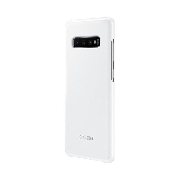 Etui Samsung Led Cover Biały do Galaxy S10+ (EF-KG975CWEGWW)