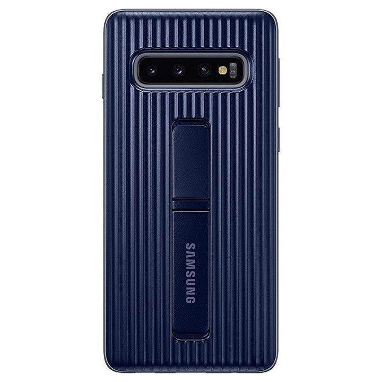 Etui Samsung Protective Standing Cover Czarny do Galaxy S10 (EF-RG973CBEGWW)