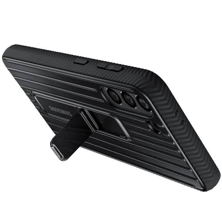 Etui Samsung Protective Standing Cover Czarny do Galaxy S21 (EF-RG991CBEGWW)