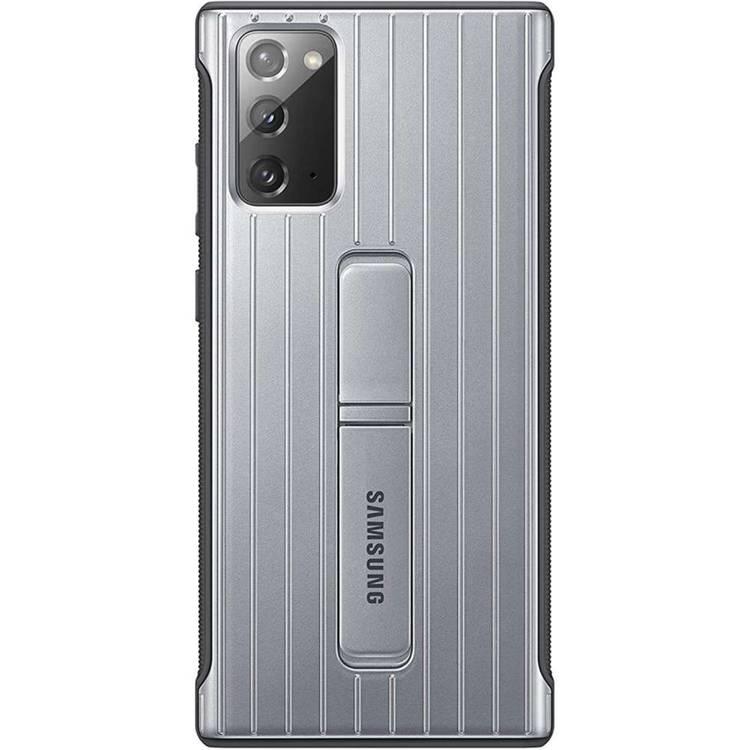 Etui Samsung Protective Standing Cover Srebrny do Galaxy Note 20 (EF-RN980CSEGEU)