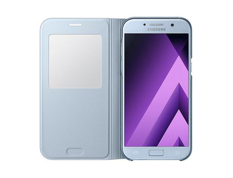 Etui Samsung S View Standing Cover Niebieskie do Galaxy A5 (2017) EF-EF-CA520PLEGWW