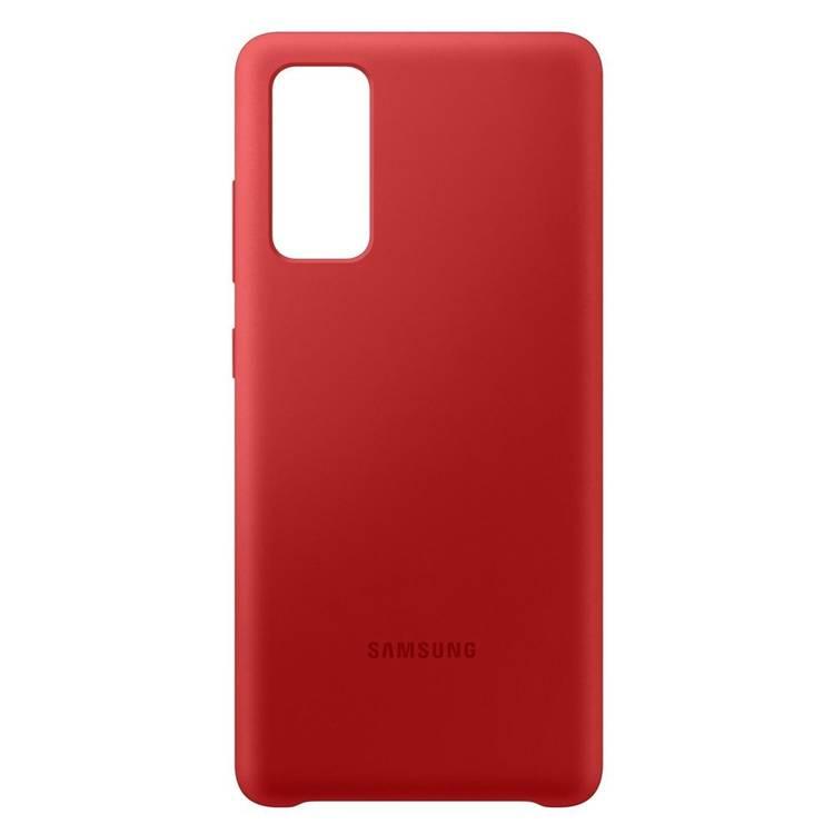 Etui Samsung Silicone Cover Czerwony do Galaxy S20 FE / S20 FE 5G (EF-PG780TREGEU)