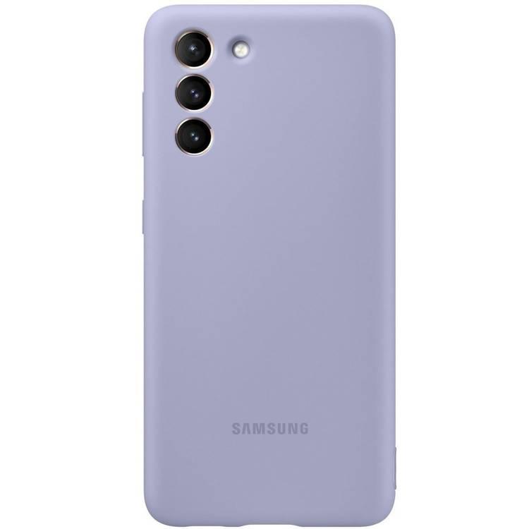 Etui Samsung Silicone Cover Fioletowy do Galaxy S21 (EF-PG991TVEGWW)