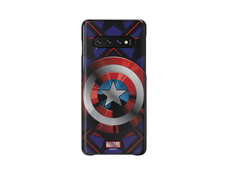 Etui Samsung Smart Cover Captain America do Galaxy S10 (GP-G973HIFGKWC)