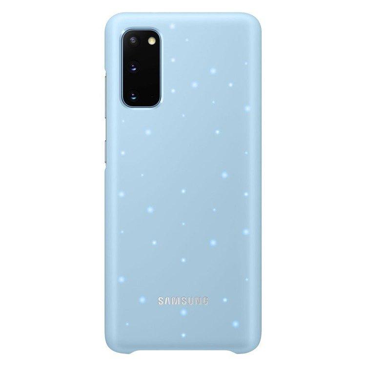 Etui Samsung Smart Led Cover Niebieski do Galaxy S20 (EF-KG980CLEGEU)