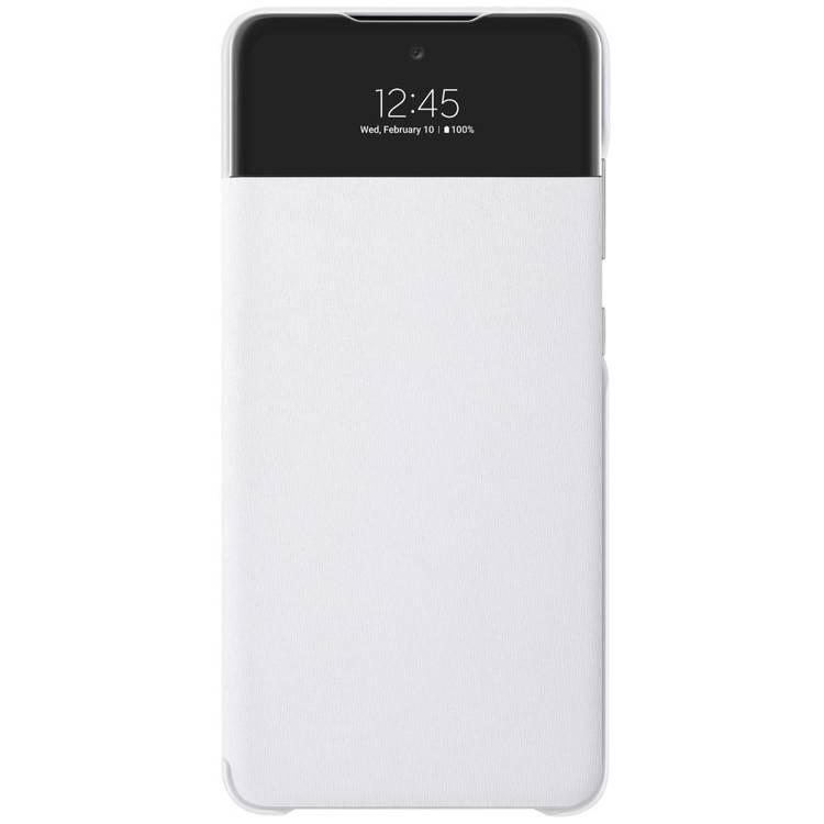 Etui Samsung Smart S View Wallet Cover Białe do Galaxy A72 (EF-EA725PWEGEW)