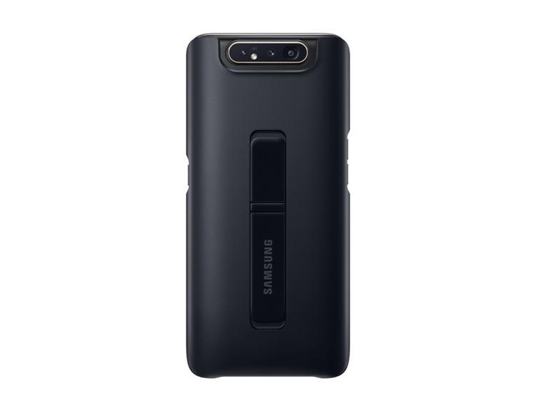 Etui Samsung Standing Cover Czarne do Galaxy A80 (EF-PA805CBEGWW)