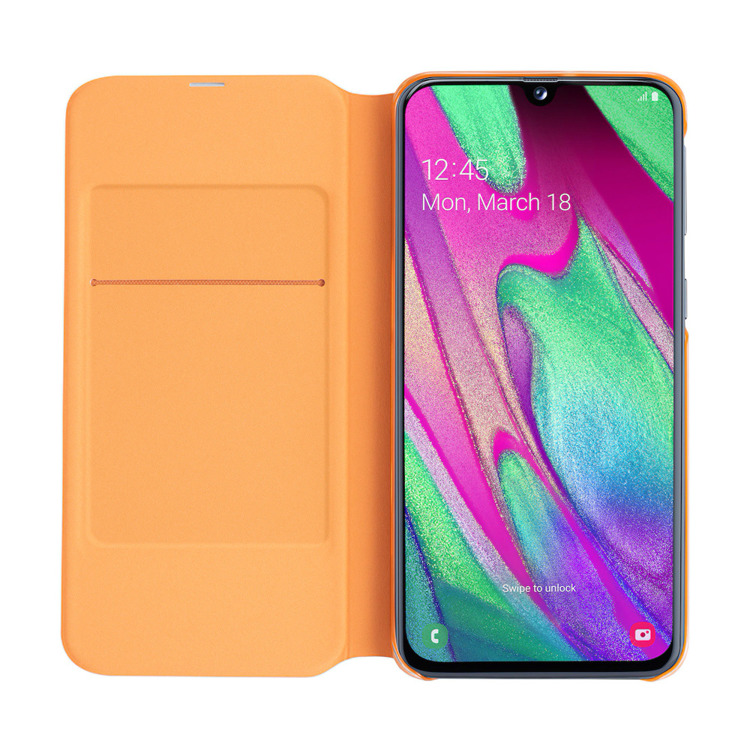 Etui Samsung Wallet Cover Białe do Galaxy A40 (EF-WA405PWEGWW)