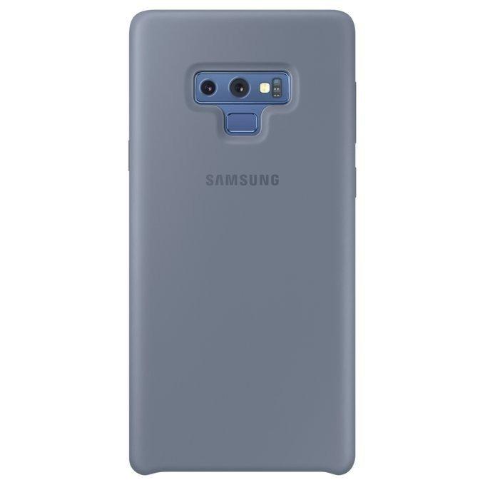 Etui Silicone Cover do Galaxy Note 9 Niebieskie (EF-PN960TLEGWW)