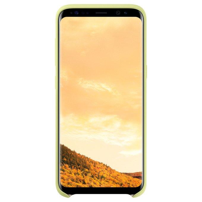 Etui Silicone Cover do Galaxy S8 Zielone (EF-PG950TGEGWW)