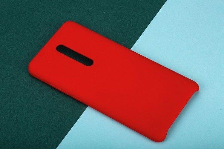 Etui oryginalne Xiaomi Silicon Case Red do Xiaomi Mi 9T Pro czerwone