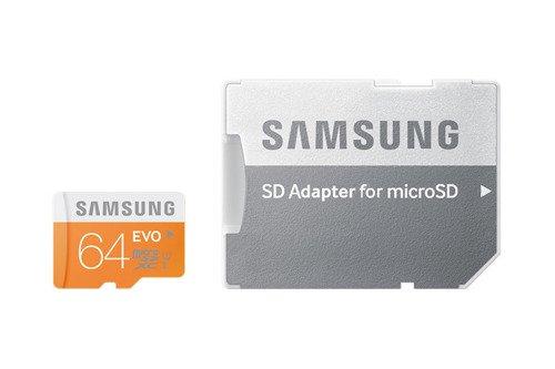 Karta pamięci Samsung Micro SDXC EVO 64GB class10 + adapter