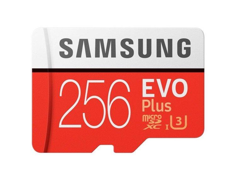 Karta pamięci Samsung MicroSDXC EVO+ 256GB class 10 + adapter MB−MC256GA/EU