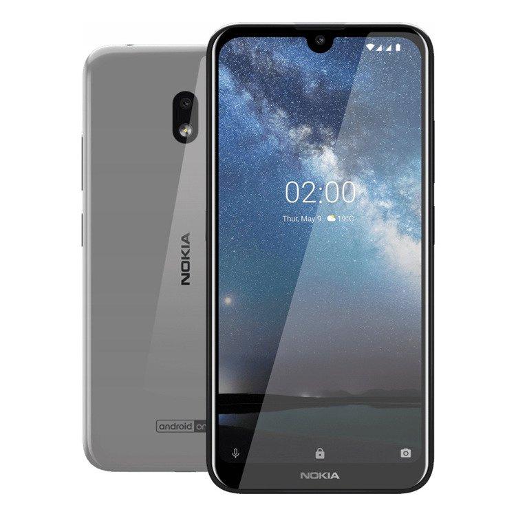 NOKIA 2.2 Dual SIM Steel/Szara 2/16GB