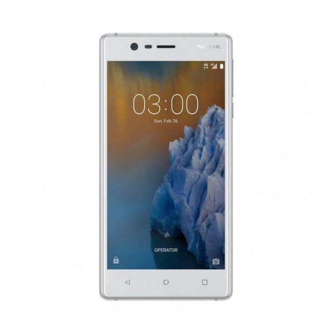 NOKIA 3 Dual SIM Biało-Srebrna 16GB LTE