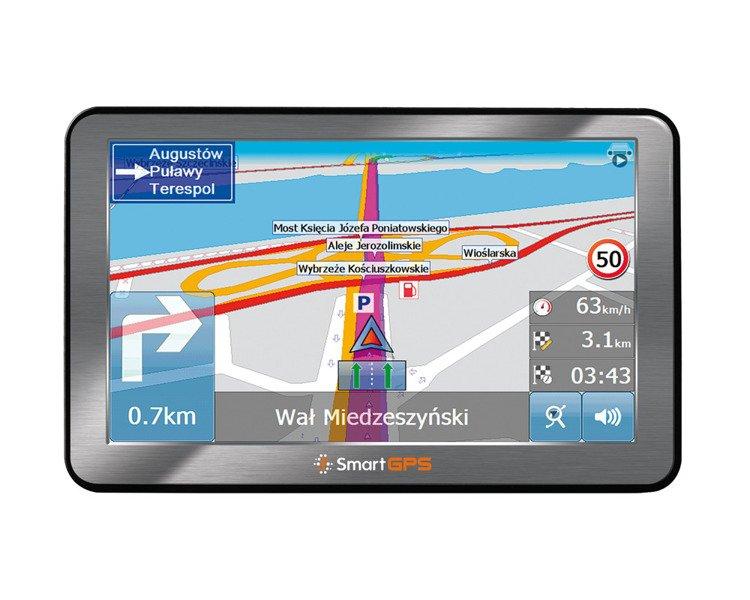 Nawigacja samochodowa SmartGPS SG742 EU LTM 5''