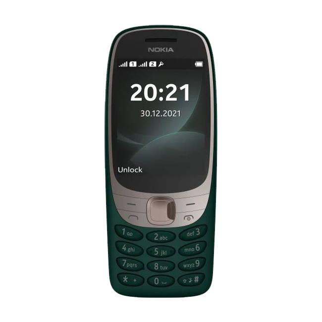 Nokia 6310 Zielona Dual Sim