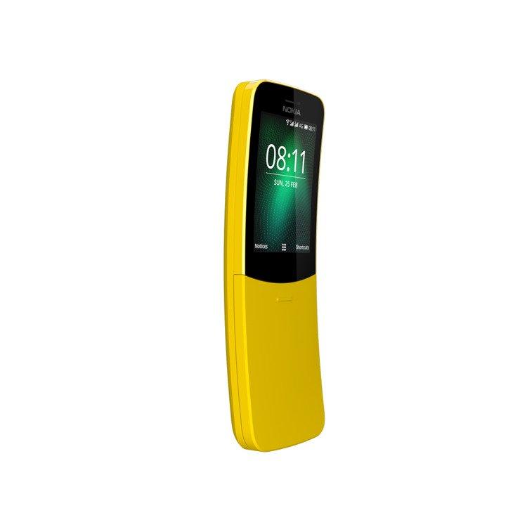 Nokia 8110 4G Dual Sim Żółta